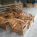 sfeerfoto rotan fabriek Indonesië