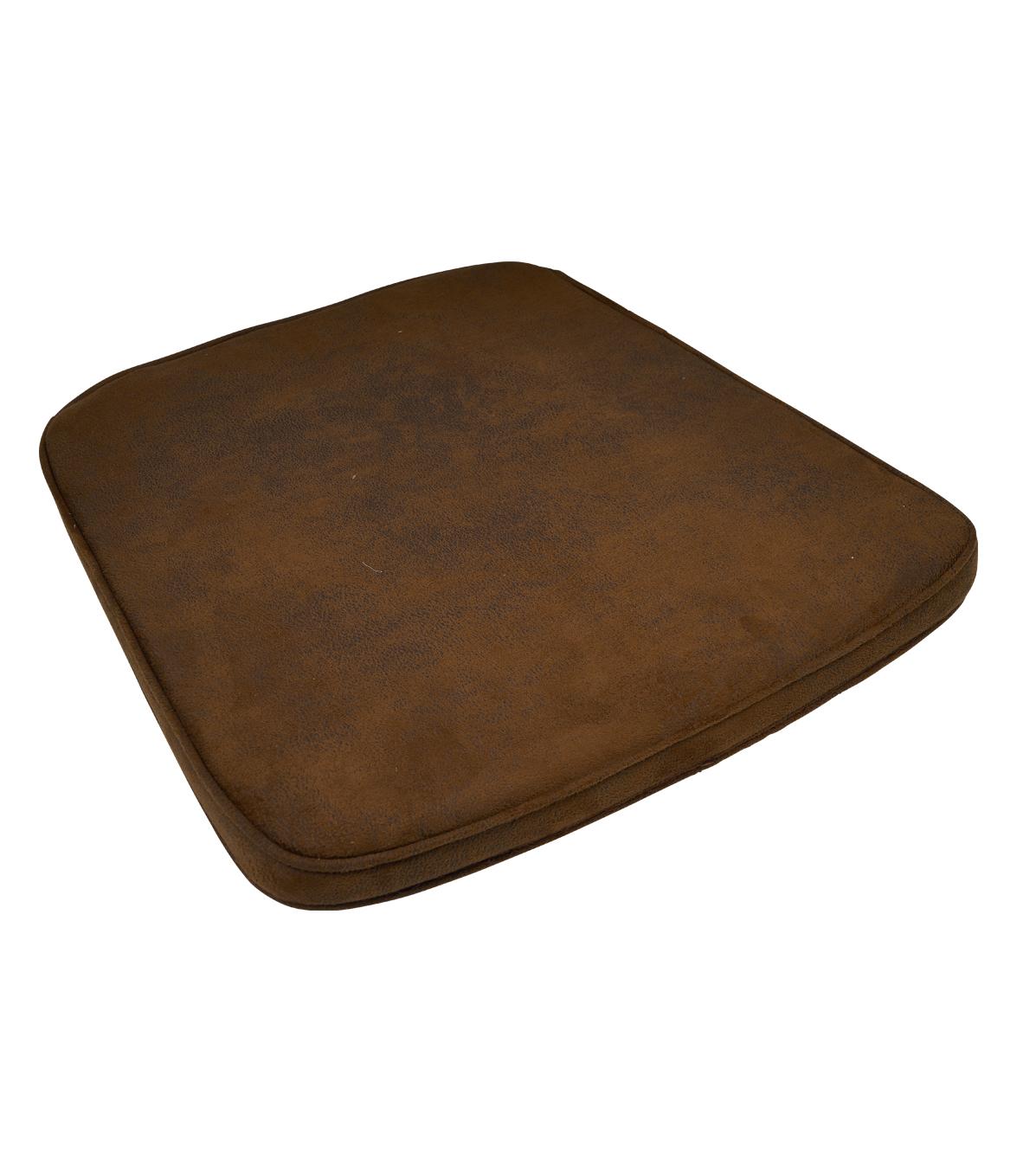 kussen bruin saddle rotan stoel 3504