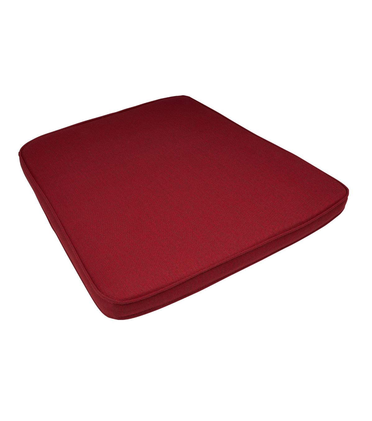 rood kussen rotan stoel 3504