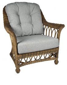 rieten fauteuil monaco