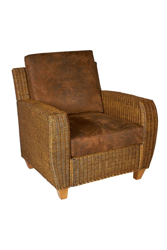 rieten fauteuil cali