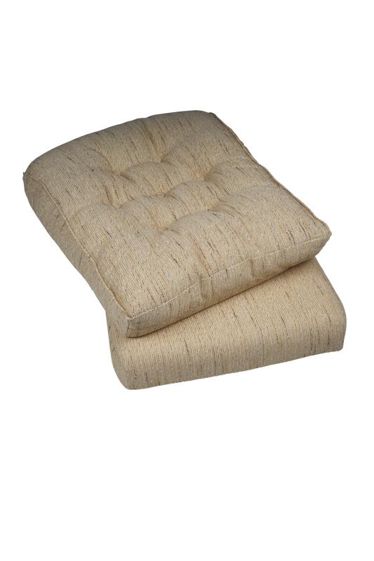 Kussens rotan stoelen fauteuil en bank super kussen for Kussens voor op stoelen