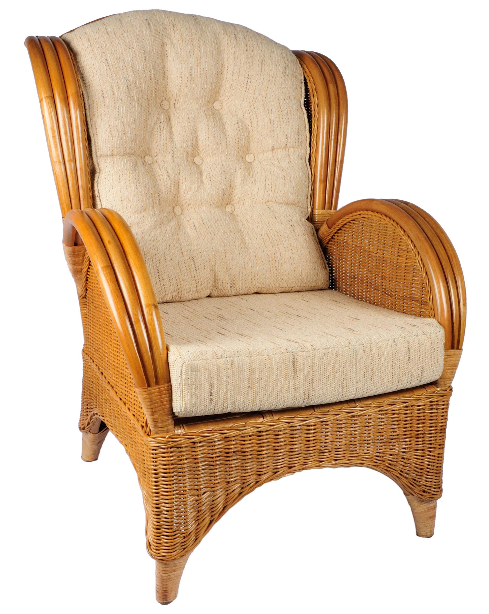 Kussen voor rotan stoel florida super kussens voordelig for Fauteuil eetkamerstoelen