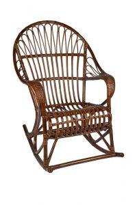 rotan schommelstoel