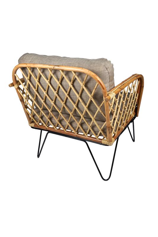 wat een super mooie rotan stoel - fauteuil Mallorca