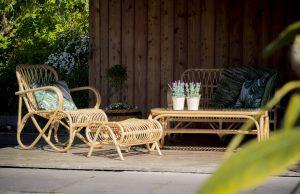 stoel belse acht retro -tuinmeubels