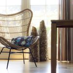 rotan fauteuil Egg Mona Lisa in de kleur naturel