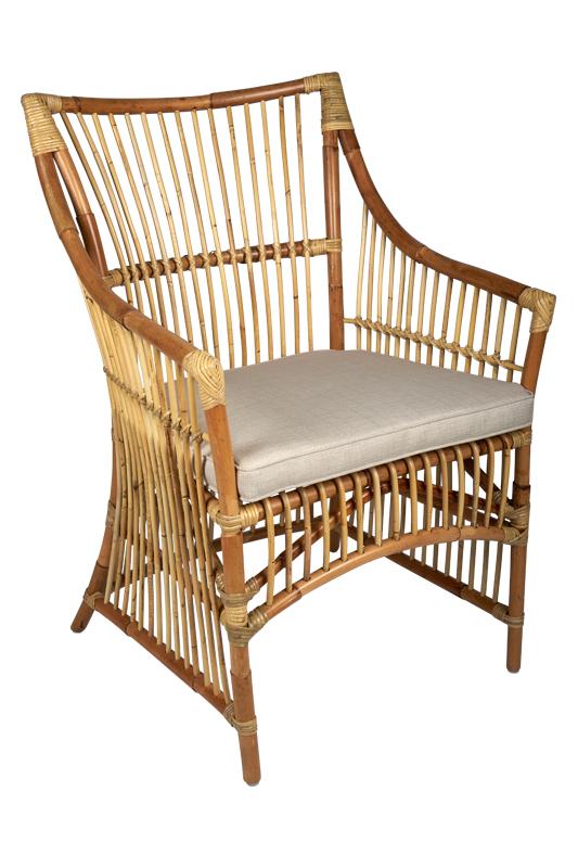 rotan eetkamerstoel La Palma - super rieten stoel