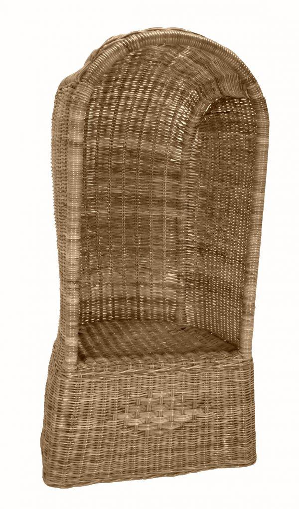 strandstoel kobo grey rotan