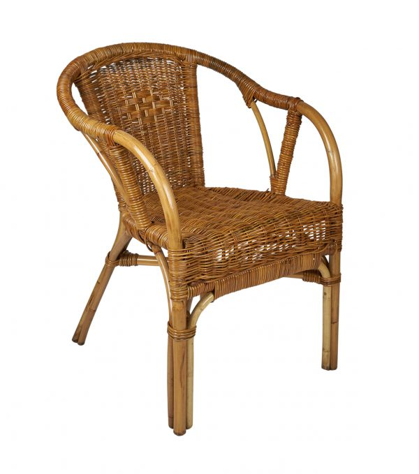 rotan terrasstoel - stapelbare rotan stoel