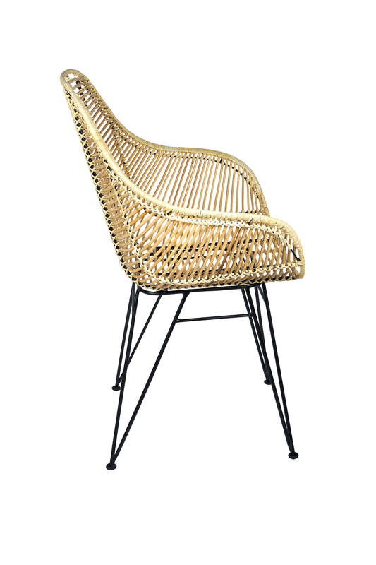 rotan stoel Madeira - trendy rieten stoel