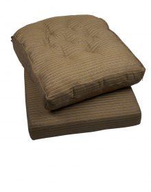 kussen streep voor rotan fauteuil