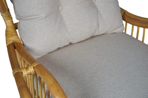 rotan fauteuil Denver detail