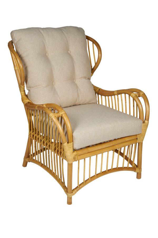 rotan fauteuil Denver - super rieten stoelen
