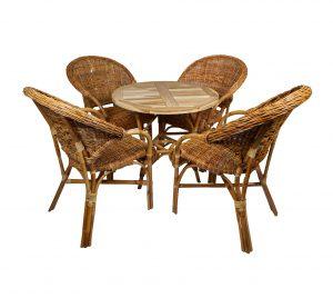 terrasstoel petra met tafel